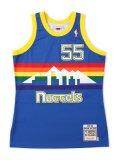 【送料無料】MITCHELL & NESS NBA AUTHENTIC JERSEY-NUGGETS/MUTOMBO#55