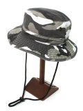 NEW HATTAN COTTON SAFARI HAT-CITY CAMO