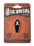 LIL BULLIES COFFIN LAPEL PIN
