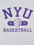 NEW YORK UNIVERSITY NYU CHAMPION BASKETBALL TEE
