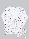 【SALE】Lady's Franklin & Marshall Star Sweat Shirt ホワイト