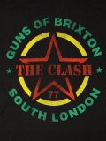 【MEGA SALE】LIVE NATION THE CLASH GUNS OF BRIXTON TEE