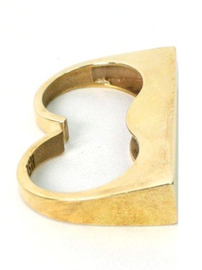 画像4: 【SALE】SNASH JEWELRY DOUBLE FINGER SOLID BAR