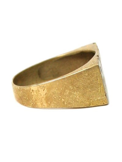 画像4: 【SALE】GROUNDSCORE NYC BKLYN RING-GOLD