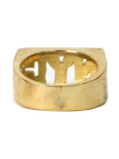 画像3: 【SALE】GROUNDSCORE NYC NYC RING-GOLD
