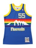 【送料無料】MITCHELL & NESS NBA AUTHENTIC JERSEY-NUGGETS/MUTOMBO#55