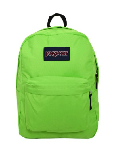 画像1: JANSPORT SUPERBREAK-ZAP GREEN