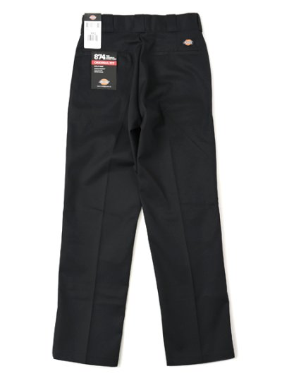 画像2: DICKIES 874 WORK PANT-BLACK