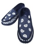TROOPER AMERICA HOUSE SLIPPERS BANDANA NAVY/WHITE
