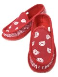 TROOPER AMERICA HOUSE SLIPPERS BANDANA RED/WHITE