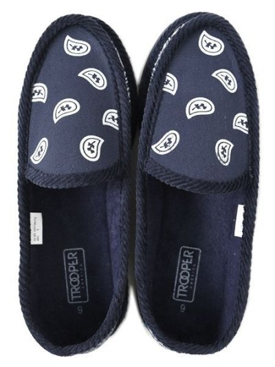 画像5: TROOPER AMERICA HOUSE SLIPPERS BANDANA NAVY/WHITE