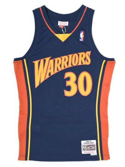 画像1: 【送料無料】MITCHELL & NESS SWINGMAN JERSEY WARRIORS 09-10 #30 CURRY