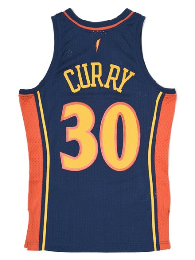 画像2: 【送料無料】MITCHELL & NESS SWINGMAN JERSEY WARRIORS 09-10 #30 CURRY