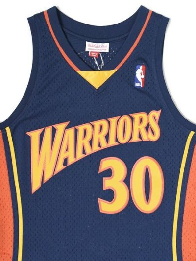 画像3: 【送料無料】MITCHELL & NESS SWINGMAN JERSEY WARRIORS 09-10 #30 CURRY