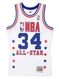 【送料無料】MITCHELL & NESS SWINGMAN JERSEY ALL-STAR WEST 89 #34 H.O