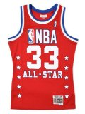 【送料無料】MITCHELL & NESS SWINGMAN JERSEY ALL-STAR EAST 89 #33 EWI