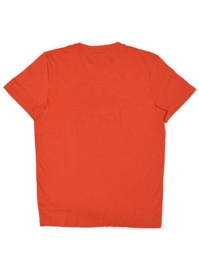 画像2: 【SALE】KAPPA AUTHENTIC ESTESSI SLIM FIT TEE RED ORG