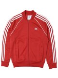 ADIDAS HERI SST TRACK TOP COLLEGE RED