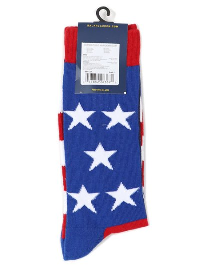 画像2: POLO RALPH LAUREN PATRIOTIC PONY PLAYER CREW SOCK