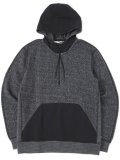 【SALE】【送料無料】REIGNING CHAMP TIGER FLEECE HYBRID HALF ZIP HOODIE