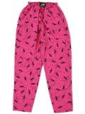 GECKO HAWAII 90S FOREVER GECKO BEACH PANTS FUCHSIA