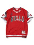【送料無料】MITCHELL & NESS 1987-88 AUTHENTIC SHOOTING SHIRT-BULLS