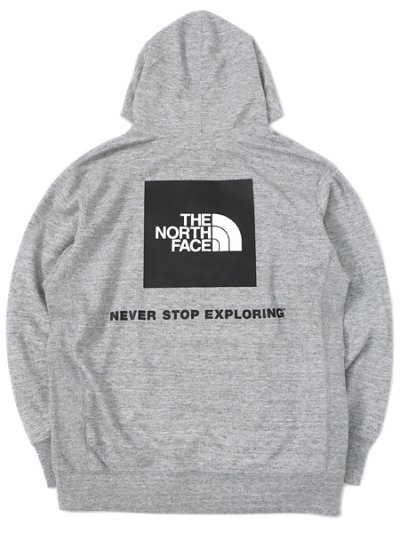画像1: 【送料無料】THE NORTH FACE BACK SQUARE LOGO HOODIE