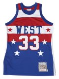 【送料無料】MITCHELL & NESS AUTHENTIC JERSEY-ALLSTAR WEST KAJ #33