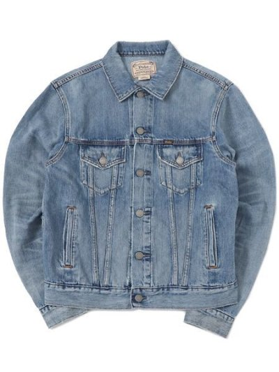 画像1: 【送料無料】POLO RALPH LAUREN ICON TRUCKER JACKET-LAVINE