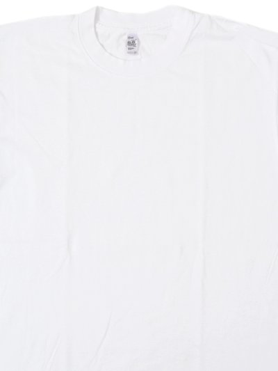 画像3: LOS ANGELES APPAREL 6.5oz GARMENT DYED CREW L/S TEE-WHITE