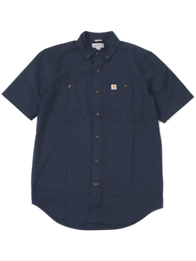 画像1: CARHARTT RUGGED FLEX RIGBY SS WORK SHIRT