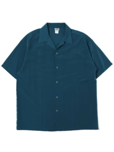 画像1: CALTOP DRESS CAMP SHIRT SAGE BLUE