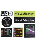40s & Shorties STICKER SET
