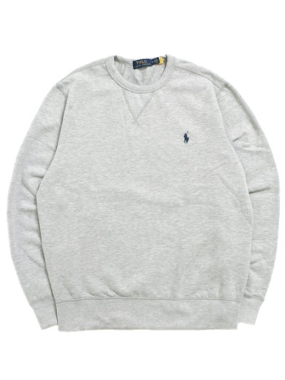 画像1: 【送料無料】POLO RALPH LAUREN RL FLEECE CREW SWEAT