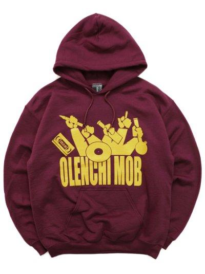画像1: 【SALE】Rap Attack x GHETTO HOLLYWOOD OLENCHI MOB HOODIE