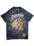 MITCHELL & NESS NBA 17X TROPHY TD LAKERS TEE