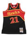 【送料無料】MITCHELL & NESS RELOAD SWINGMAN 86-87 HAWKS WILKINS #21