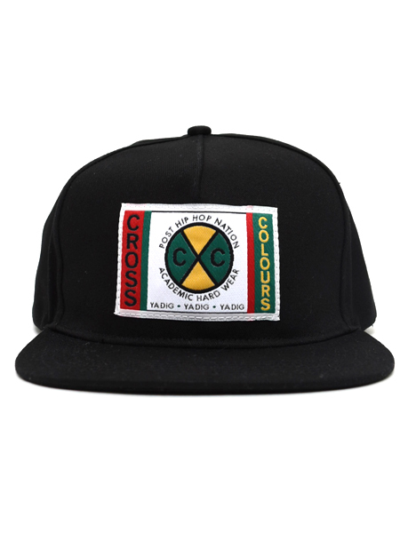 CROSS COLOURS CLASSIC WOVEN LABEL SNAPBACK - FIVESTAR 16ef3884d9b