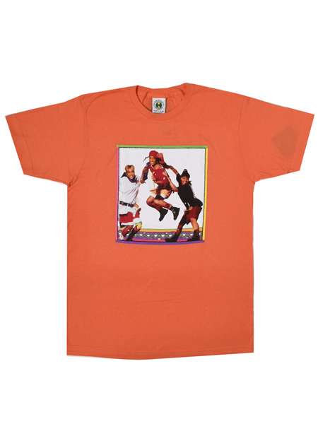 37f696f70397 CROSS COLOURS TLC JUMP S/S TEE [C10017TIP-CO-CORAL]