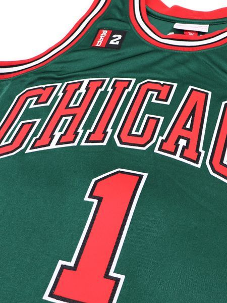 on sale 7f57e 376d4 送料無料】MITCHELL & NESS AUTHENTIC JERSEY BULLS 08-09 #1 D ...